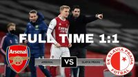 Hasil Pertandingan Arsenal vs Slavia Praha : The Gunners Ditahan Imbang 1-1